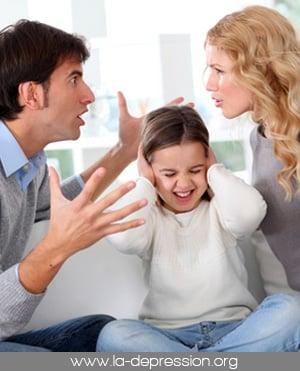 La dépression et les relations familiales
