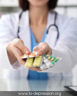 Les antidépresseurs pour soigner la dépression d'intensité modérée ou sévère